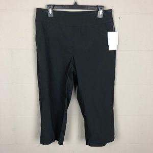 Alia Women's Capri Pants Size 10 Black RF12 NWT